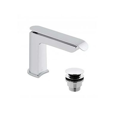 Vado Kovera Mono Basin Mixer Tap with Clicker Waste